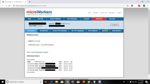 Microworkers Withdrawal Proof